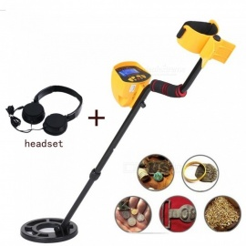 ESAMACT Professional MD3010II High Sensitivity Underground Metal Detector w/ LCD Display+ Headphones