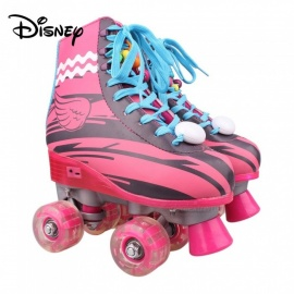 Disney Soy Luna Patines 2.0 Light Up Roller Skates For Girls W/ Charging Cable - Talla 36 Red