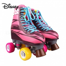 Disney Soy Luna 2.0 Roller Skates For Girls, Colored Disney PU Stakes - Talla 34 Purple