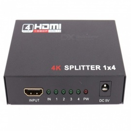 HDMI Splitter One Minute Four Support 4K*2K Hdmi1*4 Crossover Hdmi Splitter One In And Four Out