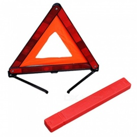 Quelima Tripod Warning Sign Car Reflective Parking Warning Sign Tripod Foldable