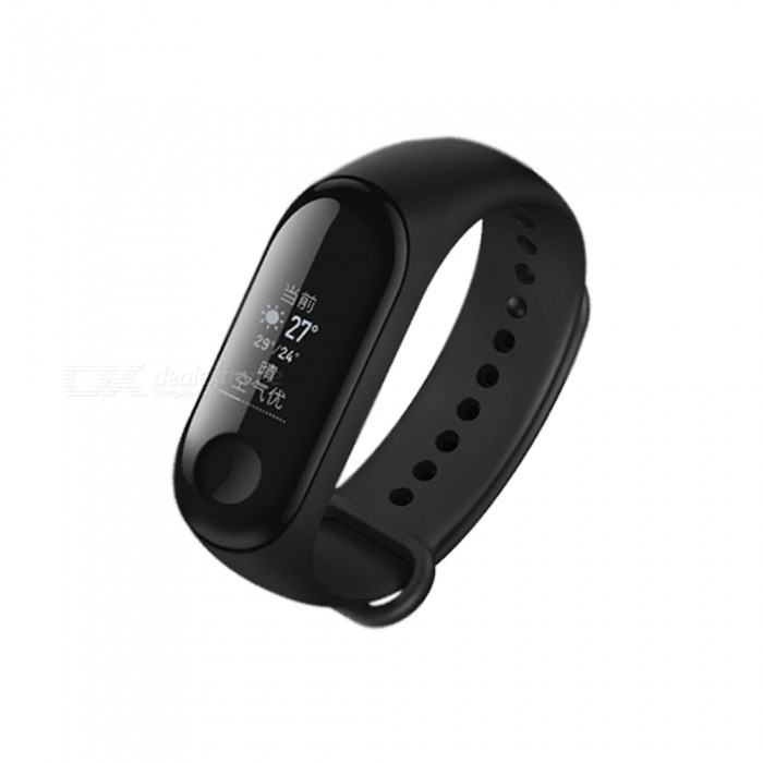 Original Xiaomi Mi Band 3 OLED Heart Rate Monitor Bluetooth 4.2 Smart Bracelet Wristband (International Version)