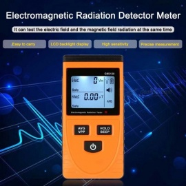 Electromagnetic Radiation Detector Meter Dosimeter Tester Counter For Electric Magnetic Field Emission GM3120