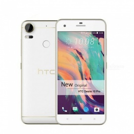 "HTC Desire 10 Pro 5.5"" Inch Dual SIM Qcta Core Android 20MP 4GB RAM 64GB ROM Fingerprint Original Unlocked Smartphone White"