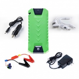 CARKING CS-17 13800mAh Mini Emergency Starting Device Petrol Diesel Car Jump Starter Booster Power Bank 12V US Charger