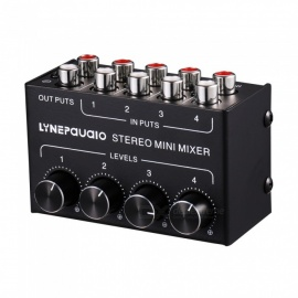 Mini Stereo Four Channel Passive Mixer