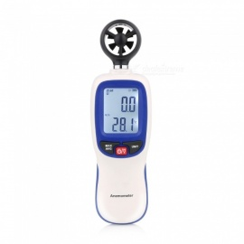 WT82 Portable Digital Handheld Air Flow Anemometer Without Battery