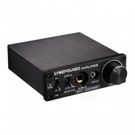 Pre-Stage Stereo Signal Amplifier Booster Dual Sound Source Headphone Amplifier 2 In 3 Out With Volume Control