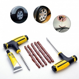ESAMACT Tire Repair Kit Studding Tool Set Auto Bike Tubeless Tire Tyre Puncture Plug Garage Car Diagnostic Accessories