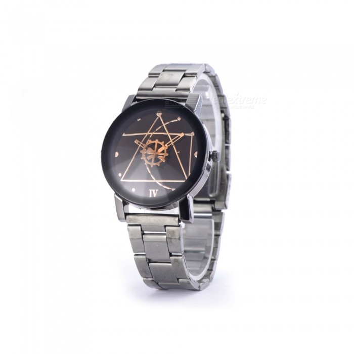 Buy ZHAOYAO New Luxury Watch Fashion Stainless Steel Watch for Man Quartz Analog Wrist Watch Hot Sales with Litecoins with Free Shipping on Gipsybee.com