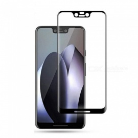 Naxtop 3D Arc Full Screen Tempered Glass Protector for Google Pixel 3 XL