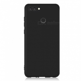 Dayspirit Protective Matte Frosted TPU Back Case for Huawei Y9 (2018) , Enjoy 8 Plus - Black