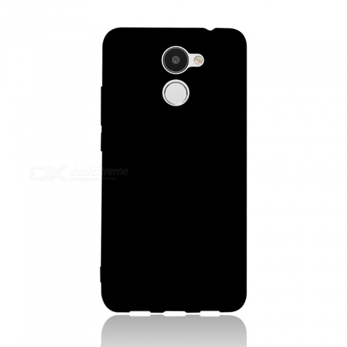 Dayspirit Protective Matte Frosted TPU Back Case for Huawei Y7 Prime , Holly 4 Plus , Enjoy 7 Plus - Black
