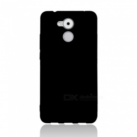 Dayspirit Protective Matte Frosted TPU Back Case for Huawei Enjoy 6s , Honor 6C, Nova Smart - Black