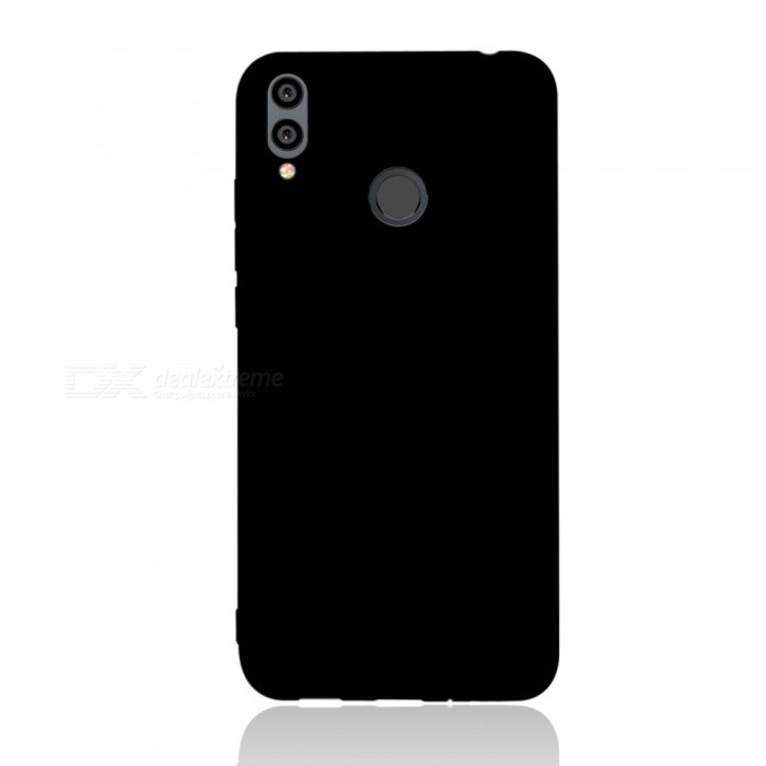 Dayspirit Protective Matte Frosted TPU Back Case for Huawei Honor 8C - Black