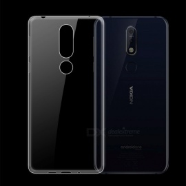 Dayspirit Ultra-Thin Protective TPU Back Case for Nokia 7.1 - Transparent