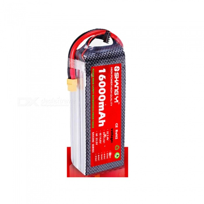 SHANGYI 1PCS 11.1V 16000mAh 25C 1174170  High Power Quality Lithium Battery for RC Helicopters Car Toy Airplane Drone