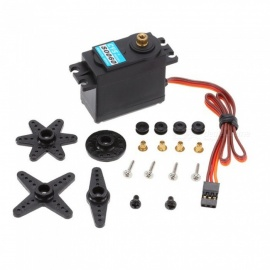 S0060 6kg Metal Gear Analog Standard Servo for 1/10 Axial SCX10 Redcat RC Racing Car