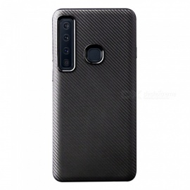 Protective Ultra-slim TPU Back Cover Case for Samsung A9 (2018) - Black