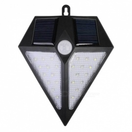 24LED Super Bright Solar Outdoor Garden Waterproof Wall Lamp