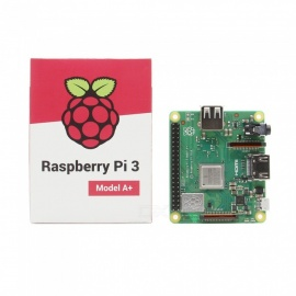 Geekworm Raspberry Pi 3 Model A+(Plus) Raspberry Pi 3A+ With 2.4G & 5G WiFi 4.2 Bluetooth Quad-core 1.4GHz Broadcom Processor