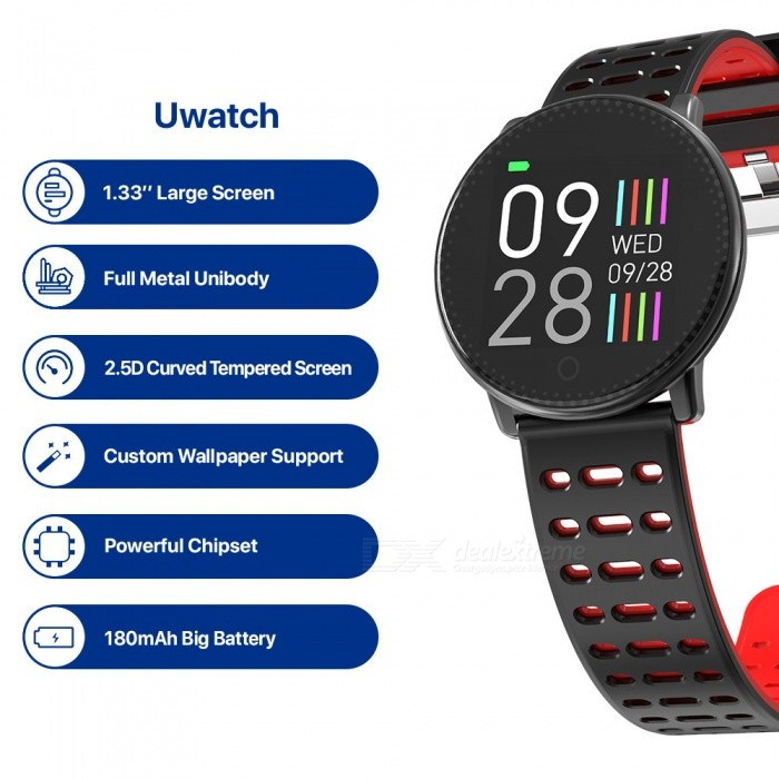 Buy UMIDIGI Uwatch Smart Color Bracelet Smartwatch with Litecoins with Free Shipping on Gipsybee.com