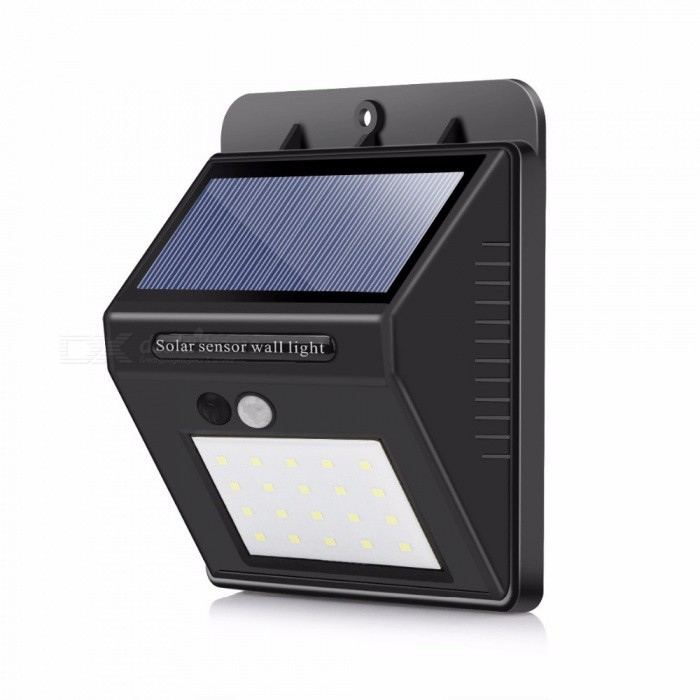 ZHAOYAO IP64 Waterproof Outdoor Solar Lamp, 2835SMD-20LEDs Garden LED Lights