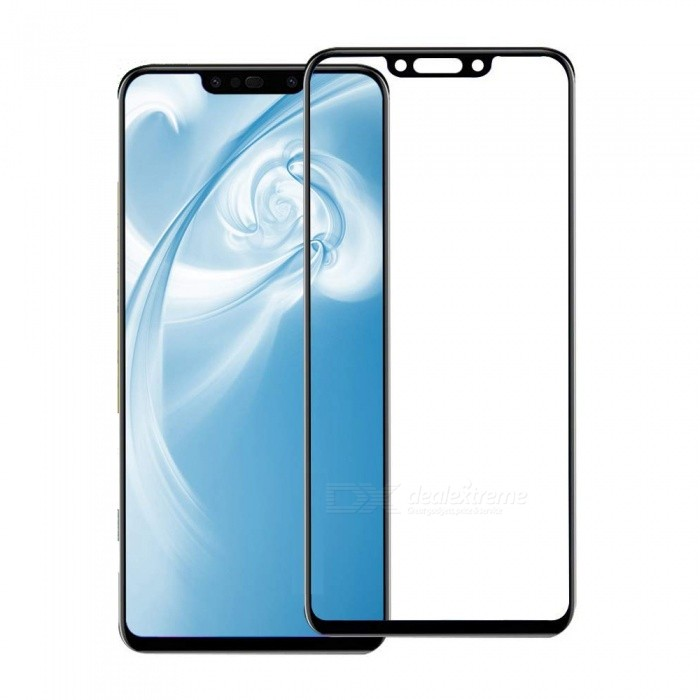 new product bfb2e 55e5b Naxtop Full-glue Full-screen Tempered Glass Screen Protector for Huawei P  Smart 2019