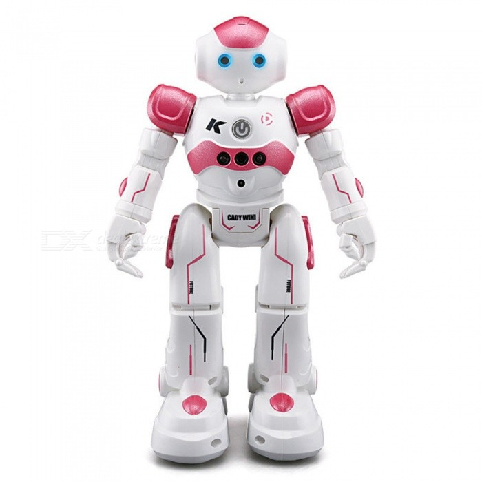 ESAMACT JJR/C JJRC USB Charging Singing Dancing Gesture Control RC Robot Toy Blue Pink For Kids Children Gift Presents