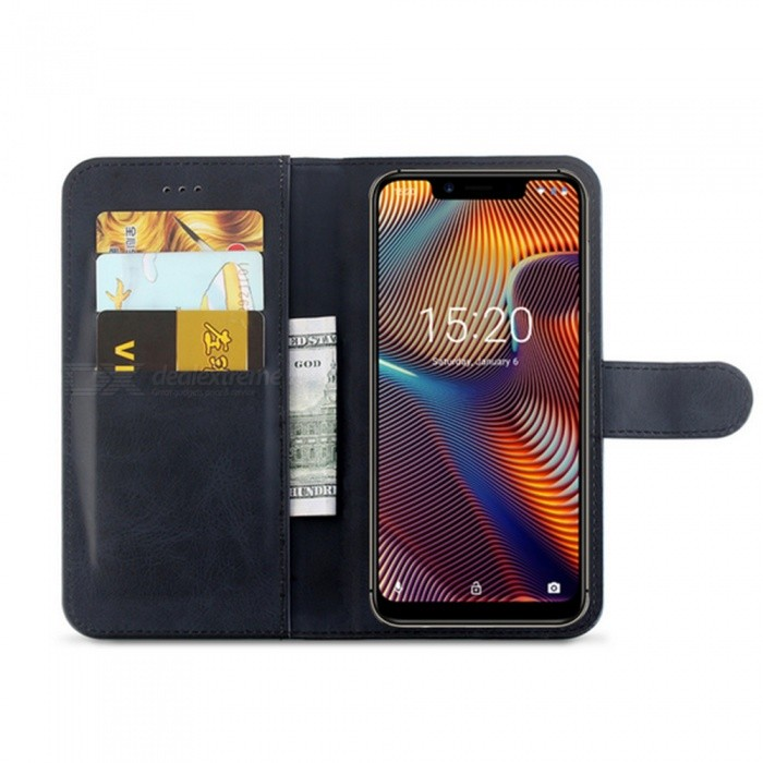 Naxtop Phone Wallet for UMIDIGI A3 Pro / A3 Flip Leather Holder Cover Case