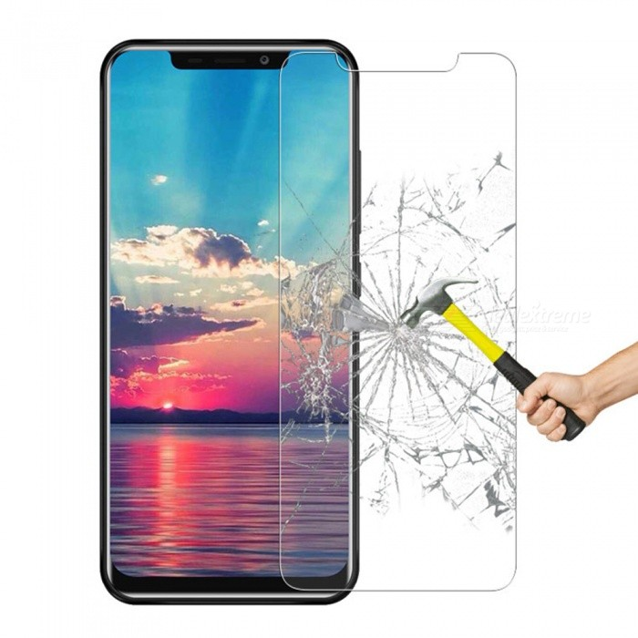 Tempered Glass Film for Oukitel C12 Pro - Transparent