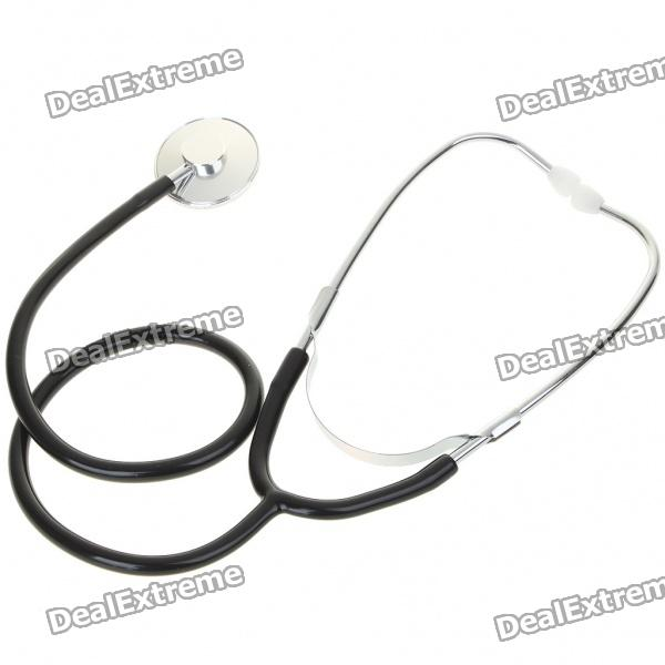 Professional Home Stethoscope - Black