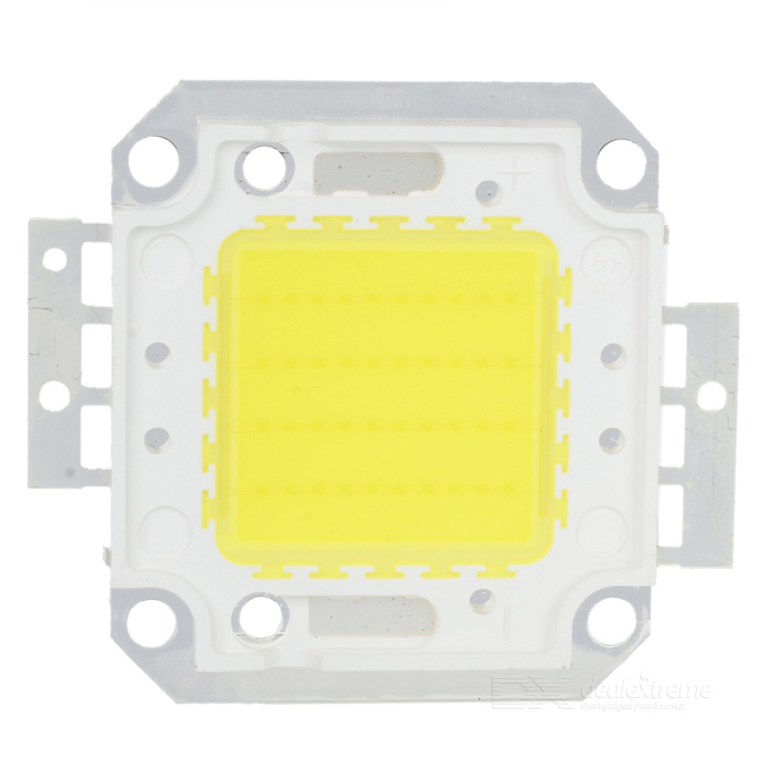 40W 7000K 3000LM LED Emitter Metal Plate - White (30~36V)