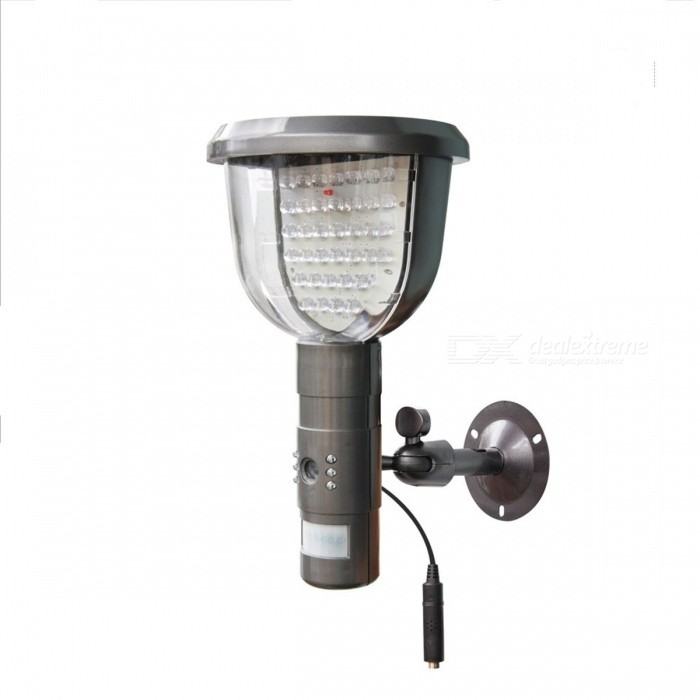 Solar Powered PIR Motion Activated 39-LED White Light