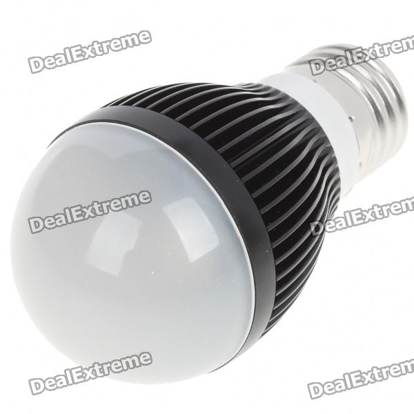 E27 3W 3-LED 260 Lumen 3500K Warm White Light Bulb (AC 85~245V)