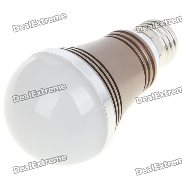 E27 5W 5-LED 430 Lumen 3500K Warm White Light Bulb (AC 85~245V)
