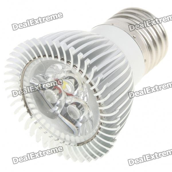 E27 3W 260lm 6500K Cold White Light 3-LED Cup Bulb (AC 85~245V)