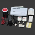 Home Security Wireless GSM Dual-Band Alarm System Set (315 MHz)