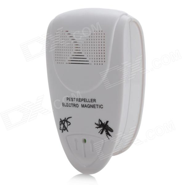 Practical Ultrasonic Pest Repeller - White (100~240V)