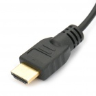 Gold Plated 1080P V1.4 HDMI Male to Micro HDMI Male Shielded Connection Cable (150CM-Length)