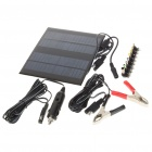 Solar Powered Universal Laptop Power Supply with 8 Connectors