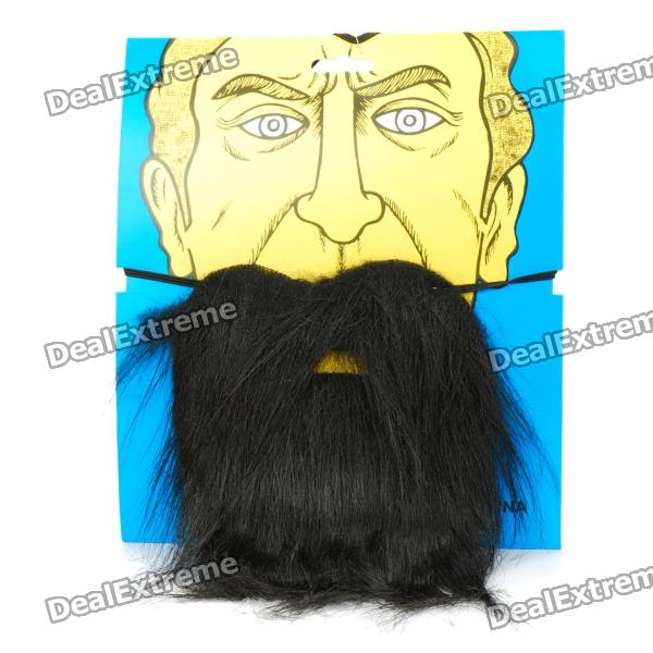 Buy 20CM Artificial Beard for Show/Party (Random Color) with Litecoins with Free Shipping on Gipsybee.com