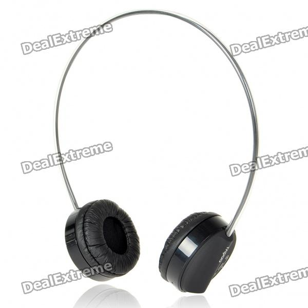 Rapoo H3010 2.4GHz USB Rechargeable Wireless Headphone with Microphone (Black)