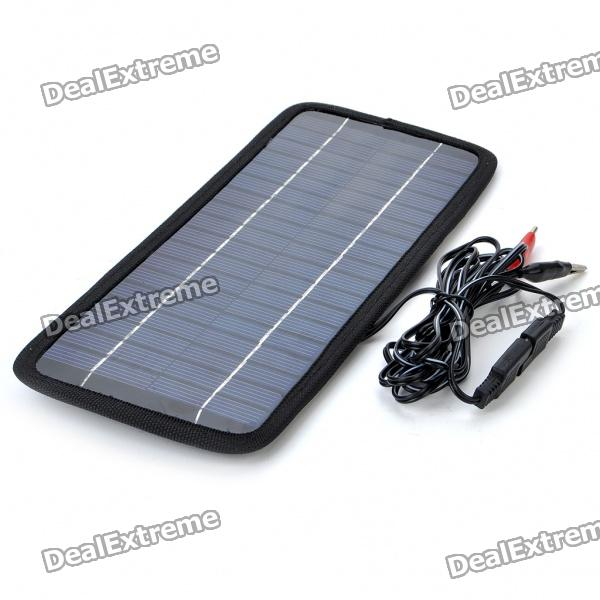 35W-200mA-Solar-Power-Panel-Auto-Car-Battery-Charger-Black