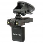 "1.3MP Wide Angle Digital Car Mini DVR Camcorder w/ 2-LED Light/TF (2.0"" LCD)"