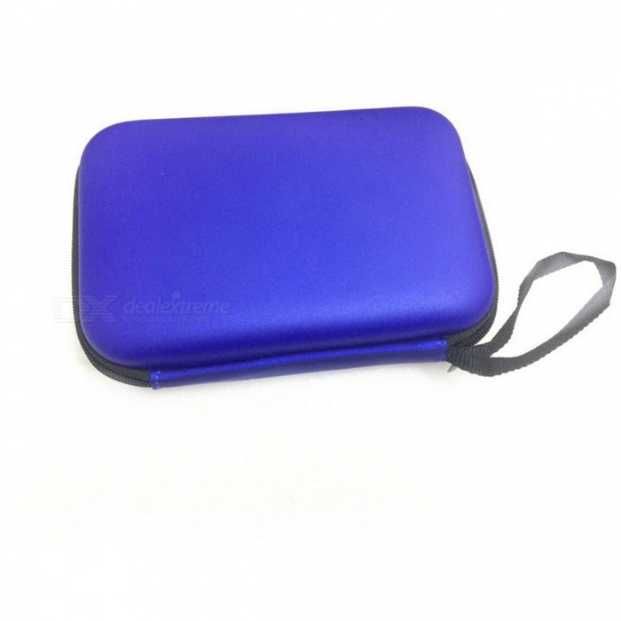 "Protective Shockproof Dustproof Case for 2.5"" HDD - Blue"