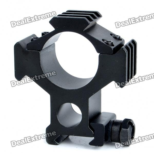 Aluminum Alloy 3-Side Gun Mount with Wrench (25mm/30mm-Caliber)