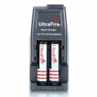 Ultra Fire All-in-One Batteries Charger w/ 2*18650 Li-ion Batteries