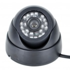 "1/3"" CCD Wired Surveillance Security Camera w/ 24-IR LED Night Vision (PAL)"