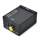 Toslink + Coaxial Digital to Analog Audio Converter - Black